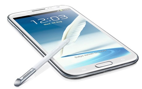 Samsung's Galaxy Note II is a large-format Android 4.1 phone with NFC