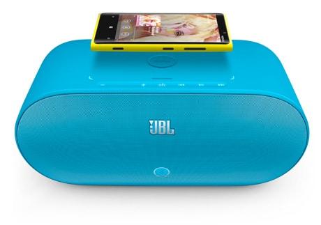 JBL's PowerUp Wireless Charging Speaker for Nokia