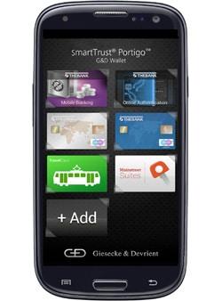 G&D's SmartTrust Portigo mobile wallet