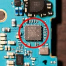 Nexus 4 teardown shows Broadcom NFC controller. Image: Anandtech.com