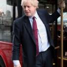 Mayor Boris Johnson on a London bus