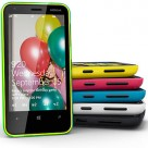 Nokia offers a range of brightly coloured shells for the Lumia 620