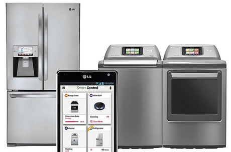 LG's smart appliances now come with NFC