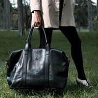 Cherry On The Bag's weekender bag