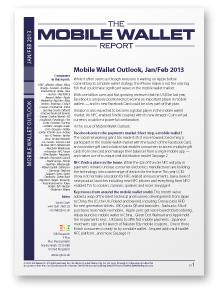 Mobile Wallet Outlook, Jan/Feb 2013