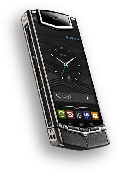 The Vertu TI comes with SIM-based NFC