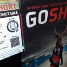 An NFC poster at the Go Short film festival