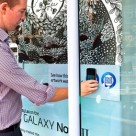 Exploring art and the Samsung Galaxy Note II in Melbourne