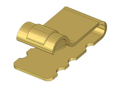 Autosplice's one piece surface mount antenna contact