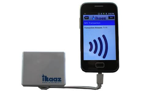 iKaaz's NFC reader for mPOS