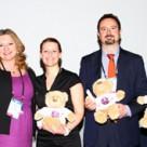 Hajo Sandschneider, Remco Willemse, organiser Joanna Merchie, Alexia Leclerc, Jorge Marcos, Tim Baker and Wolfgang Müllner