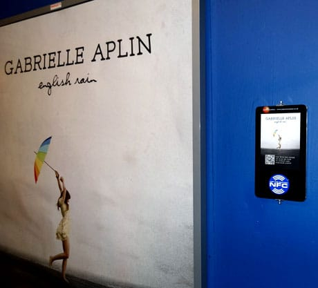 An NFC touchpoint at the O2 Academy Liverpool