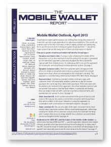 OUT NOW: Mobile Wallet Outlook
