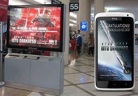 Star Trek Into Darkness gets NFC OOH promotion