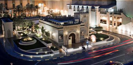 The Wafi mall in Dubai