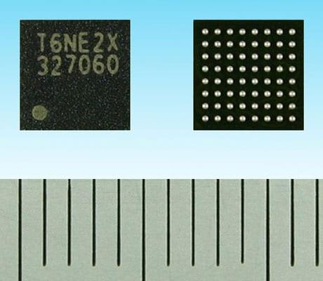 Toshiba T6NE2XBG NFC controller