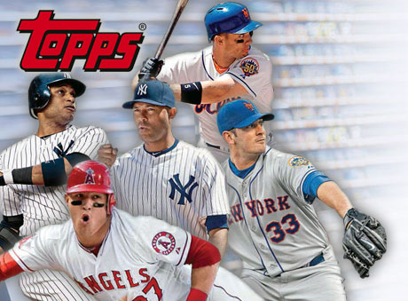 Topps is promoting its Major League Baseball cards with NFC posters