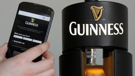 Thousands of Guinness dispensers are now NFC-enabled