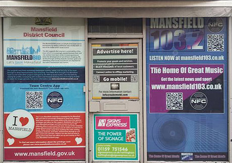 Mansfield's NFC virtual shop