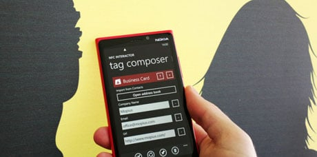 NFC Interactor for Windows Phone 8