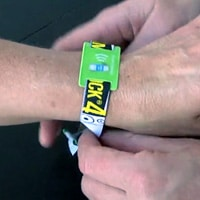 The Smukfest contactless wristband