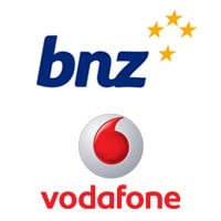 BNZ and Vodafone
