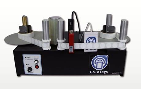 GoToTags' reel-to-reel NFC encoder