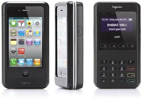 Ingenico's ISMP mobile POS terminal