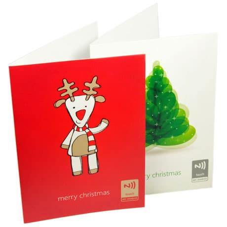 RapidNFC's NFC Christmas cards