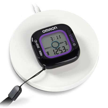 Omron Activity Monitor with Weight Loss Tracker