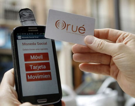 Valencia's Orué NFC-based social currency