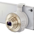 The Sony DSC-QX10 lens-style camera with NFC