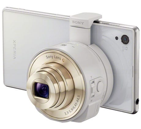 sony launches nfc lens style cameras for smartphones • nfc