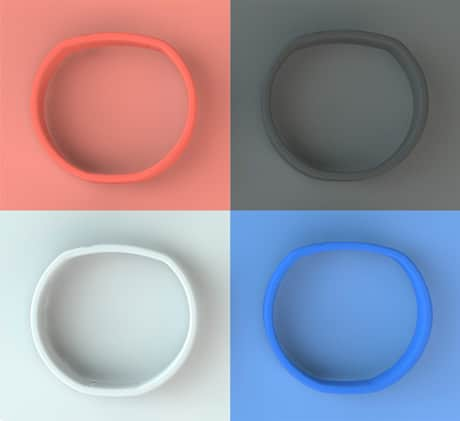 Thirteenfiftysix's NFC wristbands