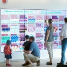 The Emmas Enkel shopping wall being tested by Vodafone in Germany