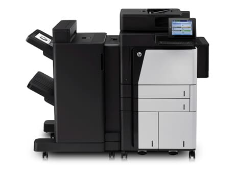 HP Laserjet M830 multi-function printer with NFC