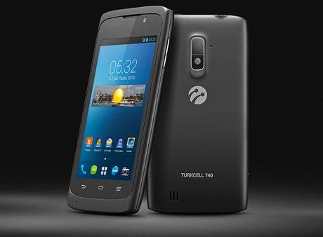 Turkcell's T40 NFC smartphone