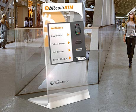 Diamond Circle wants to put sleek Bitcoin ATMs in shopping malls