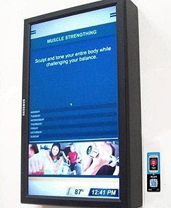 NFC touchpoints will appear next to DOOH displays