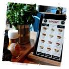 Popolare's tablet-based NFC digital menu