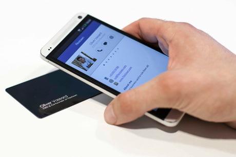 Flextown NFC business cards