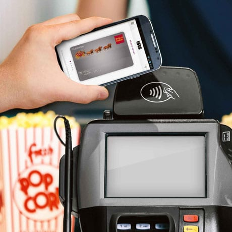 Isis and Wells Fargo mobile payment