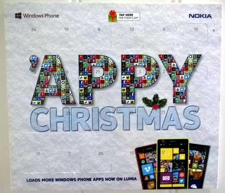 Nokia's Appvent Calendar
