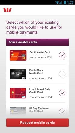 Westpac mobile banking app