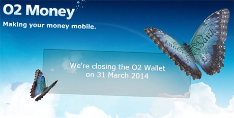 O2 Wallet is closing on 31 March