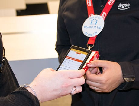 Argos NFC-enabled lanyards