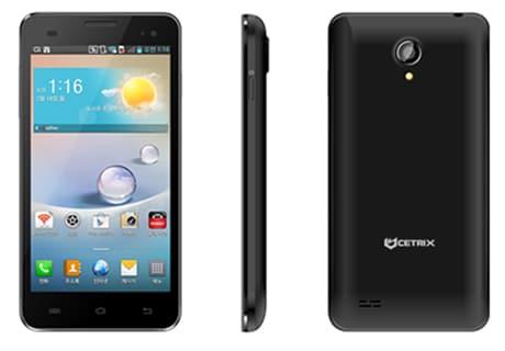 Cetrix CB250 smartphone