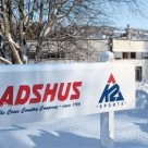 Madshus factory sign