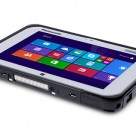 Panasonic's Toughpad FZ-M1 is an IP65-rated 7-inch Windows 8 tablet with NFC