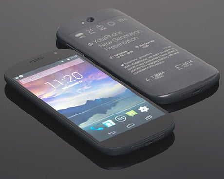 The second-generation Yotaphone comes with NFC